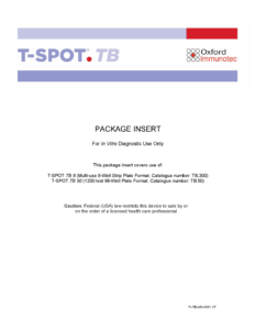 The T-SPOT.<i>TB</i> test package insert